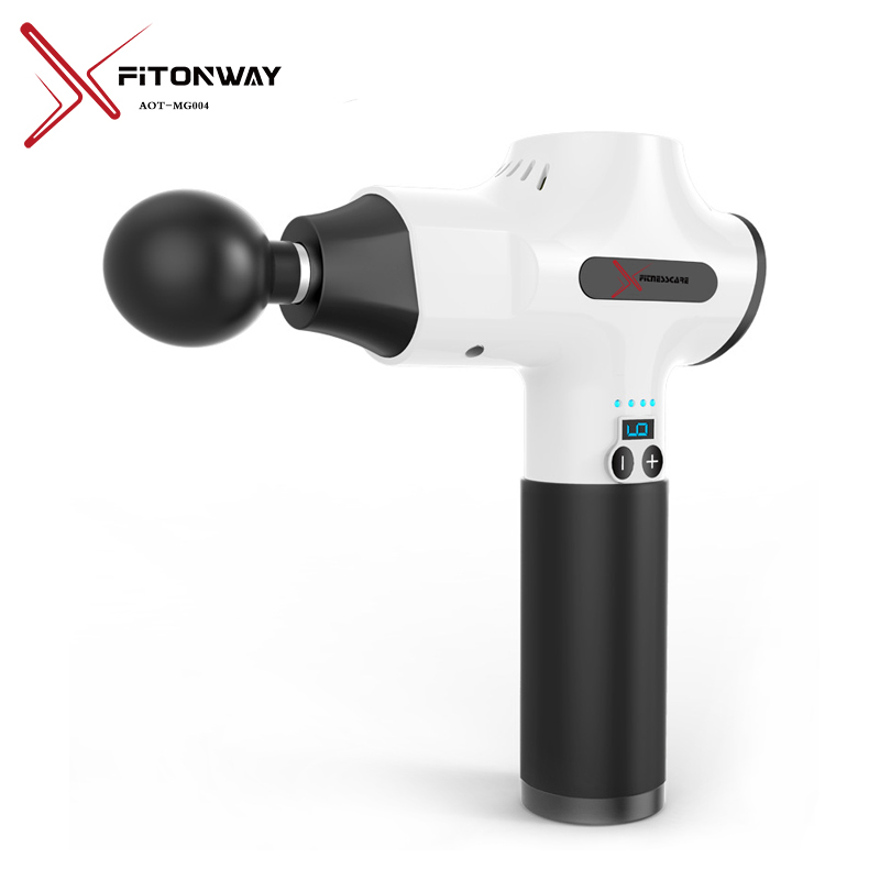 XFITONWAY new percussion body massager with removable battery for pain relief-1