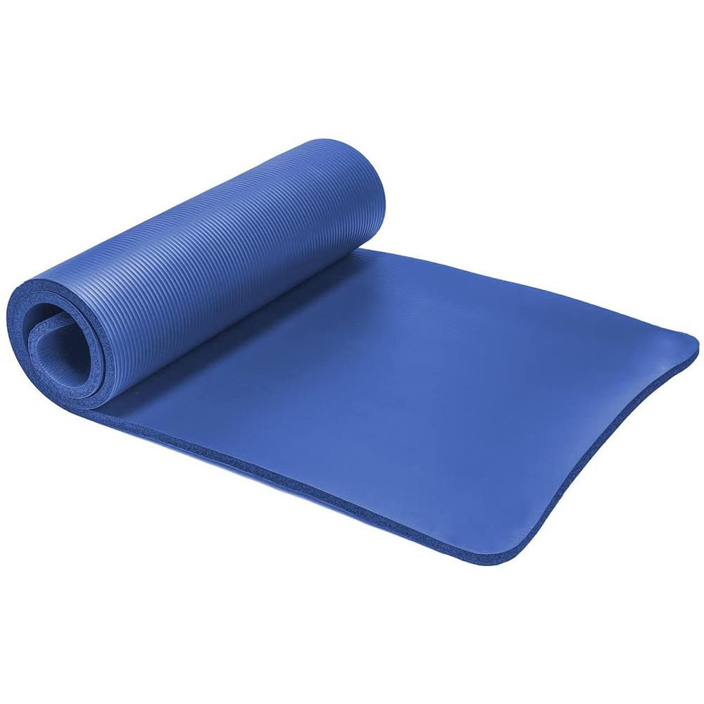Manufacturer Printed Design Outdoor Travel Fitness Large Round Pilates Hemp Non Slip Foldable Recycled Eva Yoga Mat