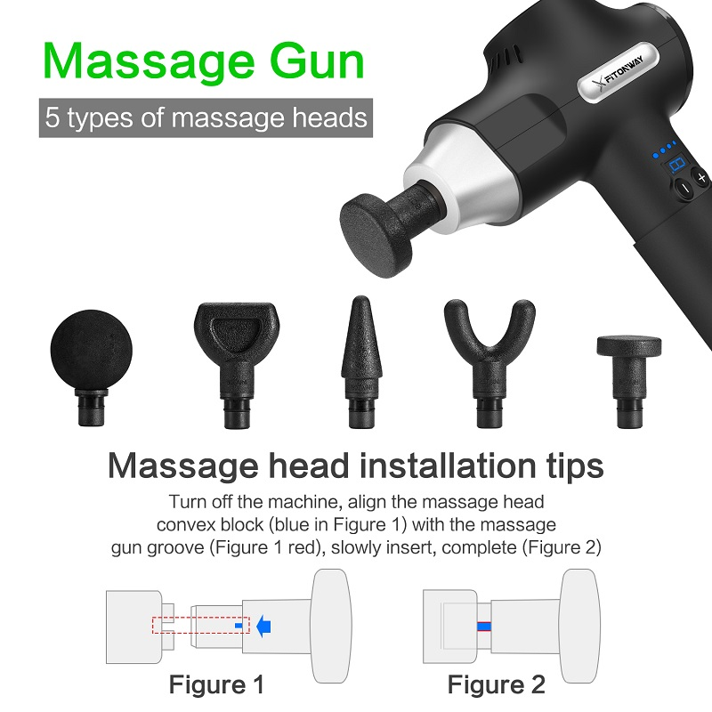 XFITONWAY best percussion massager supply for athletes-1