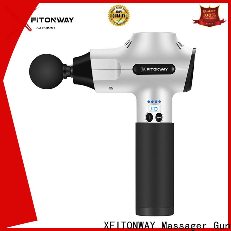 XFITONWAY factory price best percussion massager with customized services for athletes
