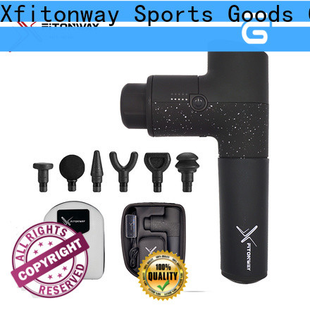 XFITONWAY personal percussion massager with customized services for muscle tension relief