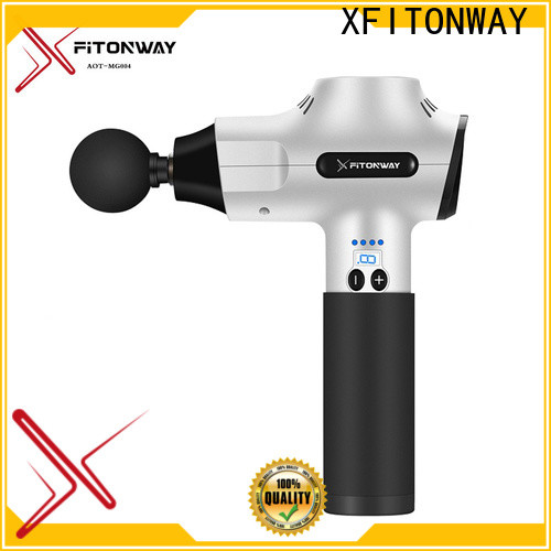 XFITONWAY personalized professional deep tissue massager with four head for muscle tension relief