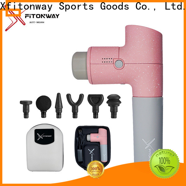 XFITONWAY custom percussion therapeutic massager company for muscle stiffness and soreness