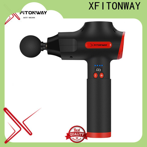 XFITONWAY best handheld percussion massager with removable battery for body