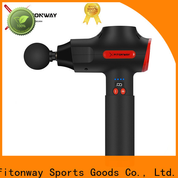XFITONWAY superior quality muscle massager machine with removable battery for body