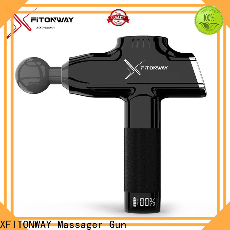 XFITONWAY hand held muscle stimulator with adjustable speeds for neck pain relief