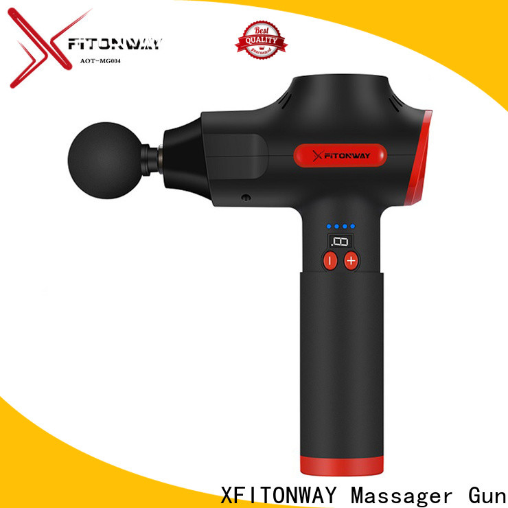XFITONWAY custom best percussion massager with customized services for muscle stiffness and soreness