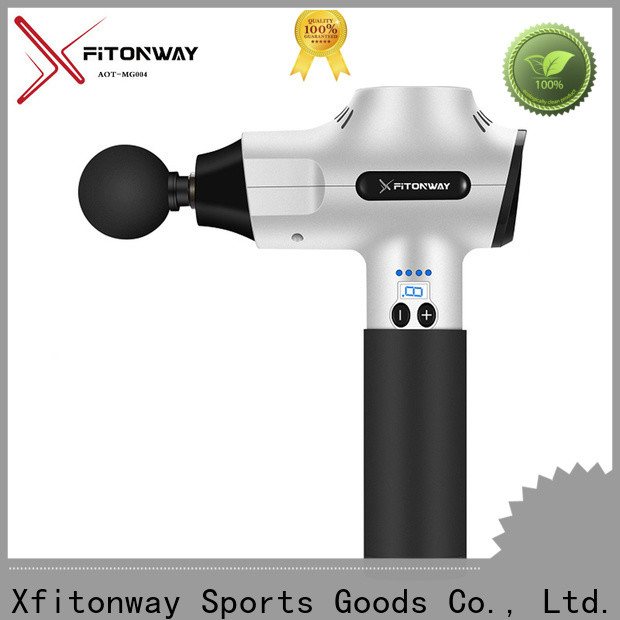 XFITONWAY hand held muscle massager with customized services for pain relief