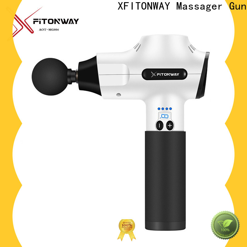 personalized personal muscle massager with removable battery for neck pain relief