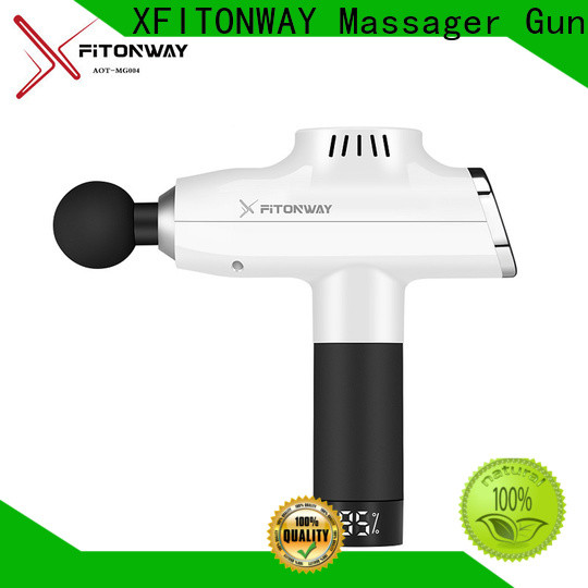 XFITONWAY best deep tissue back massager with customized services for muscle stiffness and soreness