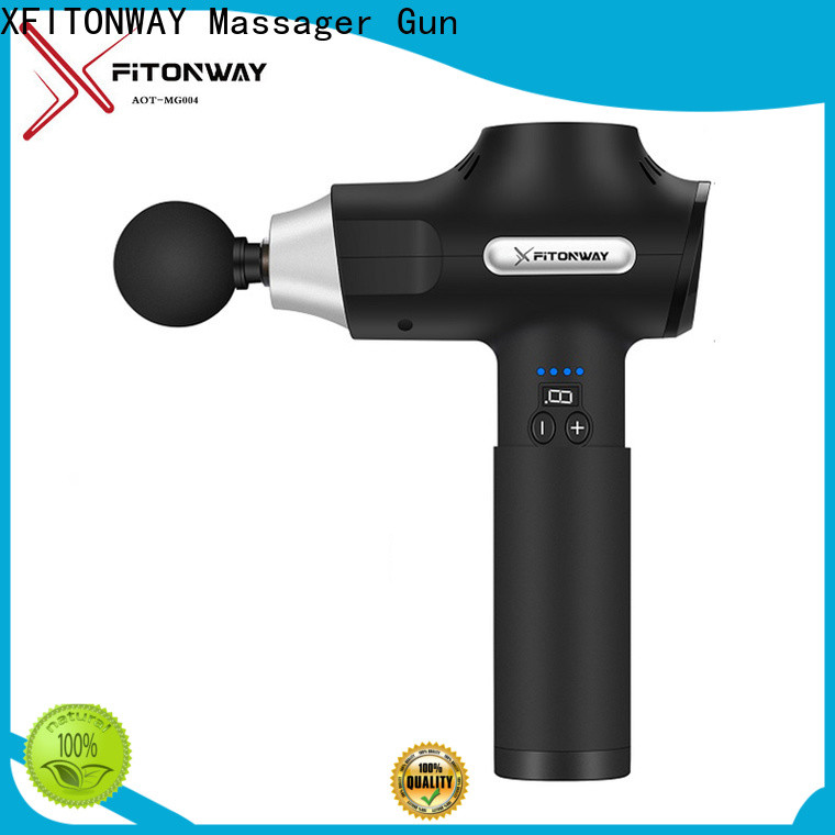 XFITONWAY personal percussion massager with adjustable speeds for shoulder