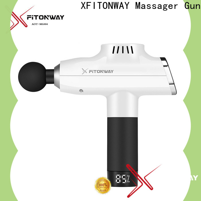 quiet handheld percussion massager with customized services for muscle tension relief