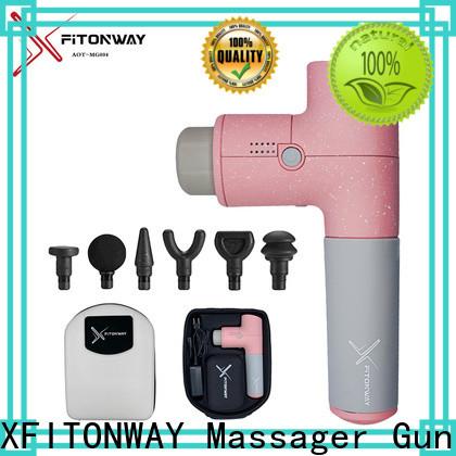 XFITONWAY custom deep tissue massage machine with adjustable speeds for body