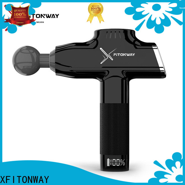 XFITONWAY deep tissue percussion massager with four head for athletes
