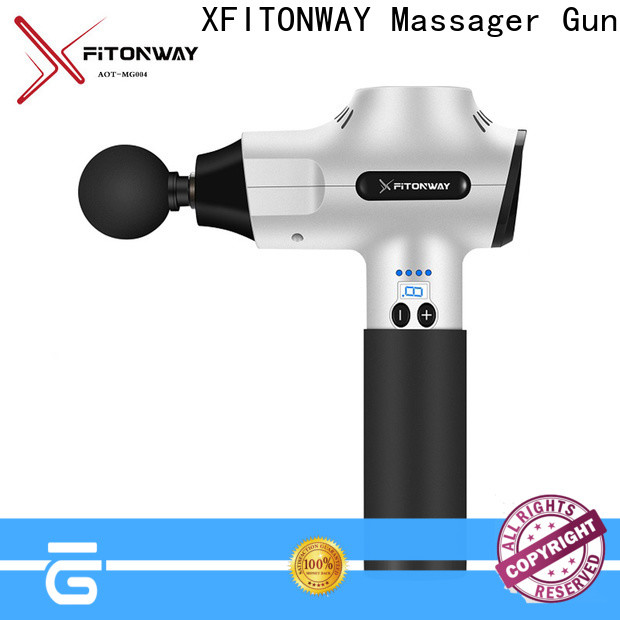 custom handheld percussion massager company for muscle tension relief