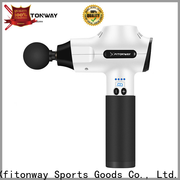 XFITONWAY handheld percussion massager with customized services for muscle tension relief