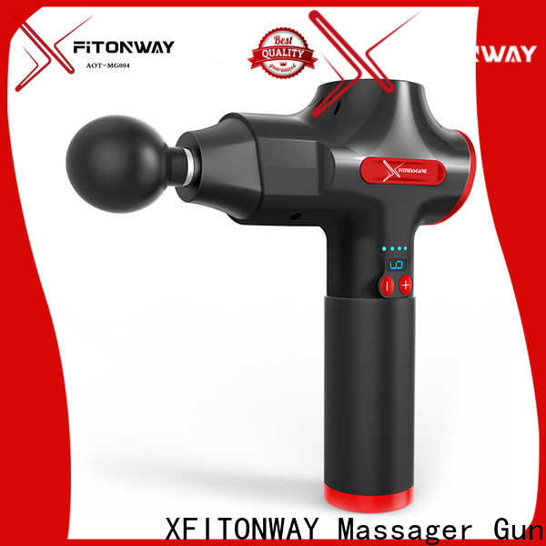 XFITONWAY best portable muscle massager with removable battery for body