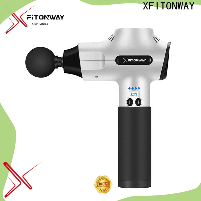 XFITONWAY best handheld percussion massager with adjustable speeds for pain relief