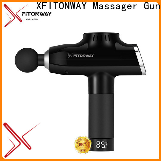 XFITONWAY quiet personal muscle massager with four head for muscle stiffness and soreness
