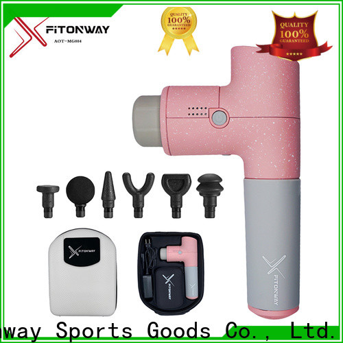 personalized handheld deep tissue massager with adjustable speeds for body