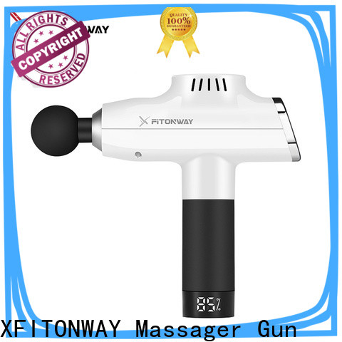 XFITONWAY top professional percussion massager with four head for pain relief
